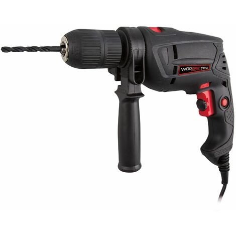 Worgrip pro tools taladro percutor 710w