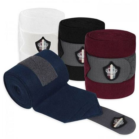 Work strips in fleece for horses model CROWN STRIPES Horses