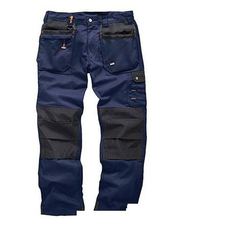 Worker Plus Trouser Navy - 30R