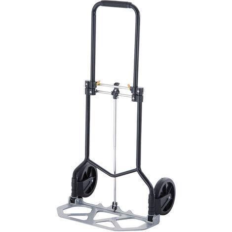 WORKMEN 8389-100 - Carrello pieghevole in alluminio, portata max 90 kg