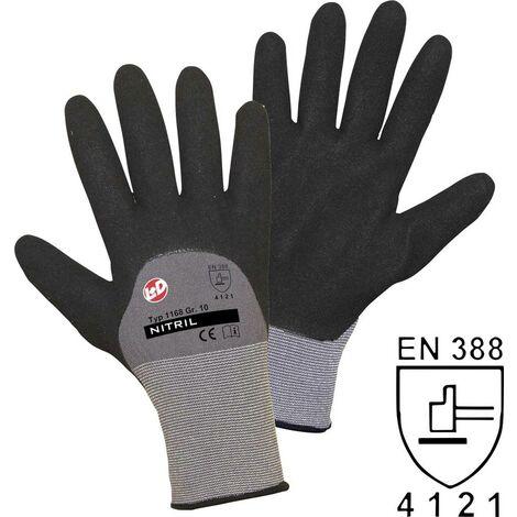 Worky L+D Nitril Double Grip 1168 Nylon Arbeitshandschuh Größe (Handschuhe): 8, M EN 388 CAT II 1 Y492341