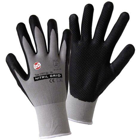Worky L+D NITRIL GRID 1167 Nylon Arbeitshandschuh Größe (Handschuhe): 10, XL EN 388:2016 CAT II 1 C05265