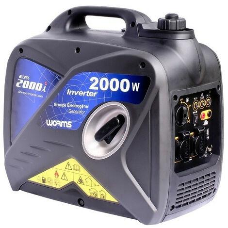 Worms - Groupe électrogène PRO Insonorisé 2KW Inverter - ACCESS 2000 I