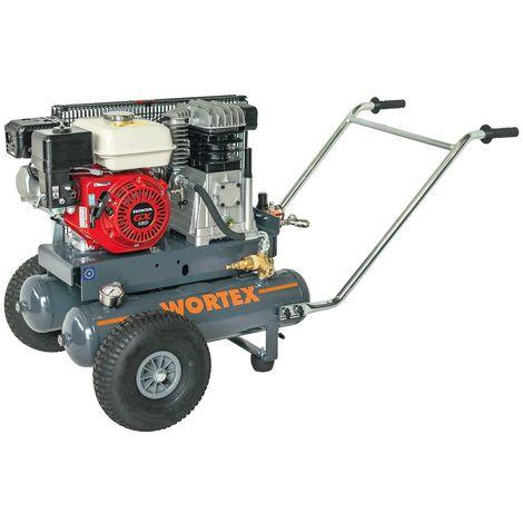 WORTEX DSB22/680 MOTOCOMPRESSORE BENZINA 680 LT/MIN MOTORE 4 TEMPI LONCIN 7 HP
