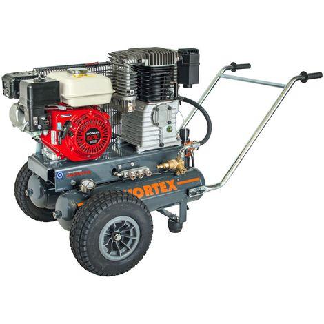 WORTEX DSB22/680H MOTOCOMPRESSORE BENZINA 680 LT/MIN MOTORE 4 TEMPI HONDA 7 HP