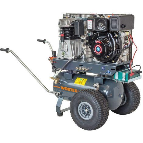 WORTEX GVD50/900 AE MOTOCOMPRESSORE DIESEL 900 LT/MIN MOTORE 9,6 HP GASOLIO