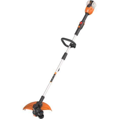 WORX - 2 en 1: Cortabodes y Perfiladora 33cm 40V (2*20V) S/bat