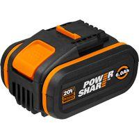 WORX - Batería Worx 20V / 6.0Ah - POWERSHARE - WA3641