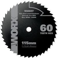 WORX - Disco Multimaterial Ø115mm 60T para WorxSaw XL WX427/WX429