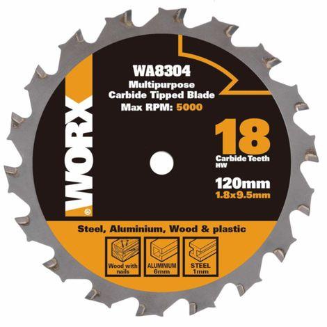 "main image of ""WORX - Disco Multimaterial 120mm WorxSaw XL WX427/WX429"""
