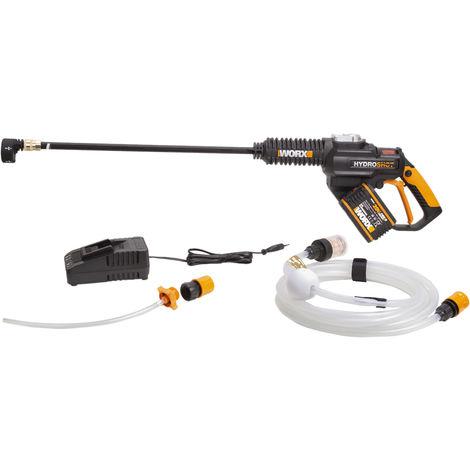 WORX - Hidrolimpiadora a batería Brushless Hydroshot 1 bat. 20V 4,0Ah