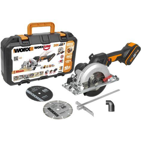 WORX - Sierra circular Brushless Worxsaw 20V 2Ah