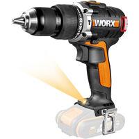 WORX - Taladro Percutor Brushless (sin escobillas) 20V - Sin Batería -WX373.9