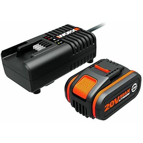 Worx WA3604 Batería + Cargador 80 W 20 V