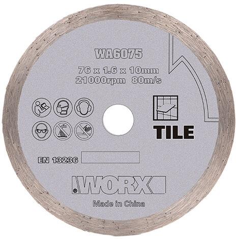 Worx WA6075 - Disco de corte diamante WX801/WX801.9