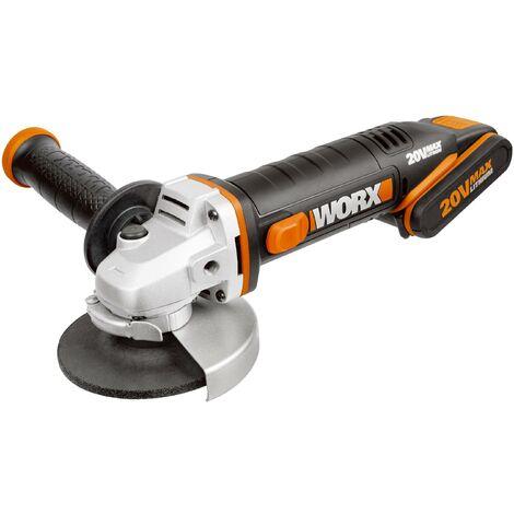 Worx WX803 - Broyeur 125mm 20V 2Ah+4Ah