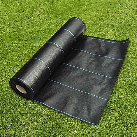 Woven Fabric Ground Cover Sheets Membrane Roll Garden Landscape Mulch