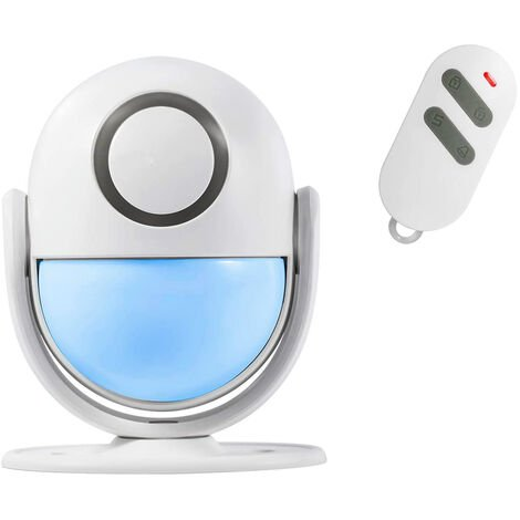 WP7 PIR Motion Detector - Smart Home Security WiFi App Control Burglar Alarm Door PIR System with Remote Control - Anti-Intrusion