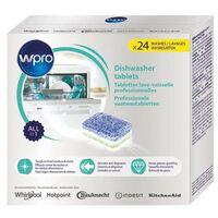 WPRO 24 x Tablettes Tout en 1 Pastilles Lave Vaisselle Professionnelles