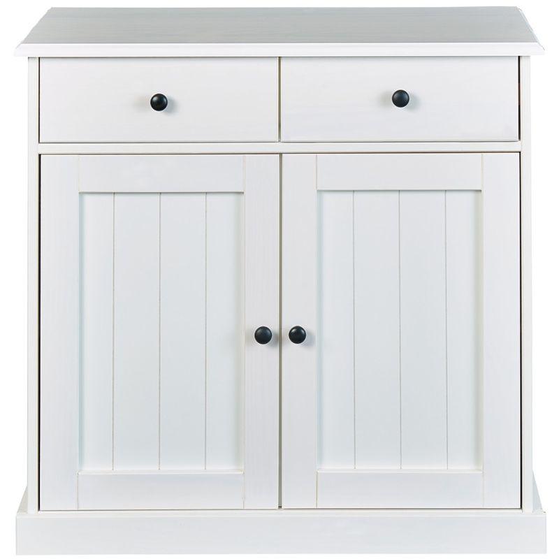 Wright Sideboard 2 Türen, 2 Schubladen, weiss. 19-20904010 - PKLINE