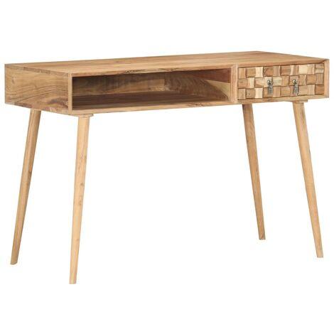 Writing Desk 115x50x76 cm Solid Acacia Wood