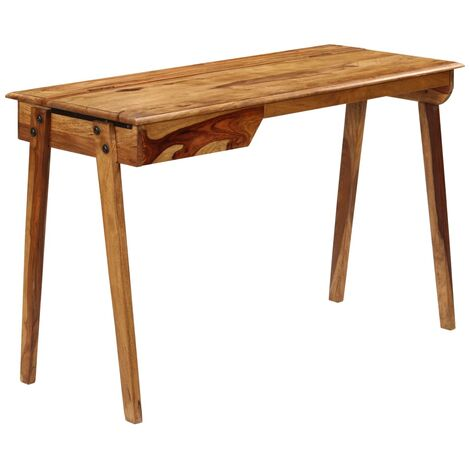 Writing Desk 118x50x76 cm Solid Sheesham Wood
