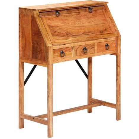 Writing Desk 90x40x107cm Solid Acacia Wood