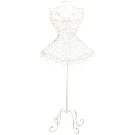 Wrouhgt iron made clothes- stand mannequin fiocco