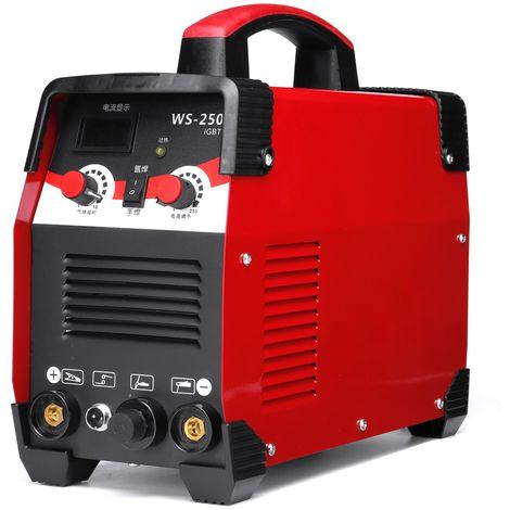 WS-250 2 EN 1 TIG/Arc Poste à Souder 220V 7700W IGBT Inverter soudage Soudure