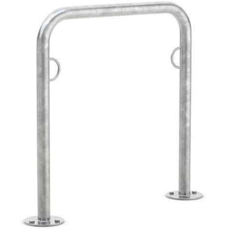WSM Système d'appuie-vélos «Trust11», à cheviller, galvanisé