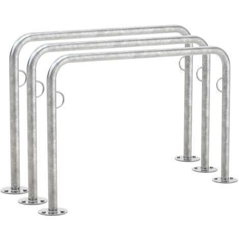 WSM Système d'appuie-vélos «Trust31», longueur 1250mm