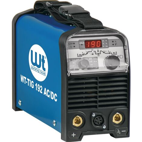WT Welding Team TIG-Schweißanlage TIG-Schweißanlage WT-TIG 192 AC/DC ohne Zubehör 10 - 190 A gasgekühlt
