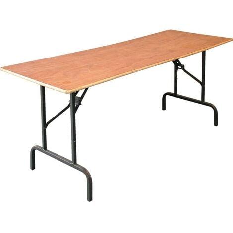 WTT05Z FOLDING LEG TRESTLE TABLE 1800x665mm