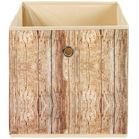 Wucan Aufbewahrungsbox braun.19-99200474