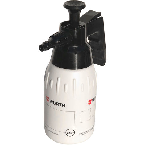 Würth Pumpsprühflasche 1Liter 360° Drucksprüher Pumpflasche Handsprüher Pumpe