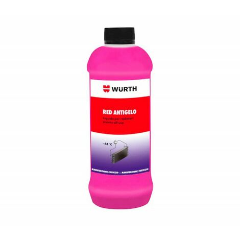 "main image of ""WURTH ANTIGELO PER RADIATORE DILUITO RED PRONTO ALL' USO 1L ART. 0892332740"""