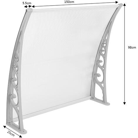 WYCTIN® Bricolaje | Toldo para puertas y ventanas | 100 * 150 cm