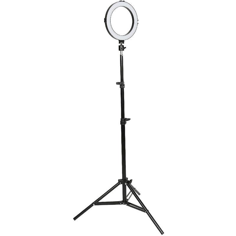 8 pouces Réglable LED Lumière Anneau, Trépied d'Eclairage, pour Smartphone, Youtube, TikTok Self-portrait Vidéo Tournage