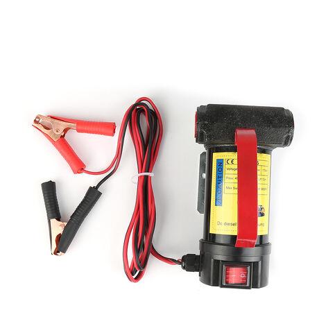WYCTIN®Bomba de gasolina autocebante de transferencia de combustible de motor diesel de 12V 155W con inyector de pistola de aceite - XY