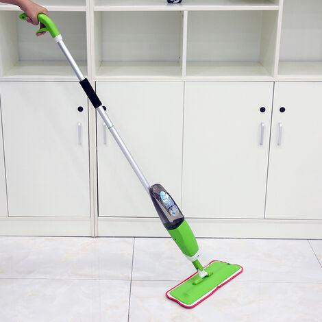 WYCTIN®Pico Spray balai vaporisation serpillière en microfibre- vert