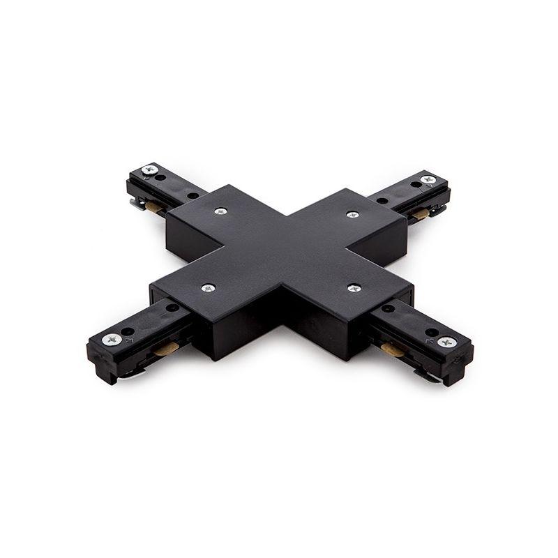 Greenice - X Connettore Binario a 2 Fasi Nero (PL218000X-T-B)