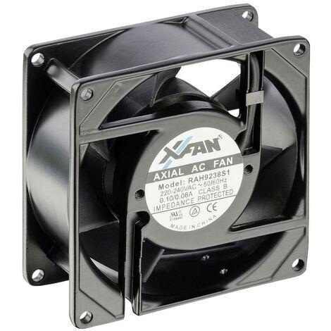 "main image of ""X-Fan RAH9238S1 Ventilateur axial 230 V/AC 66 m³/h (L x l x H) 92 x 92 x 38 mm S87312"""
