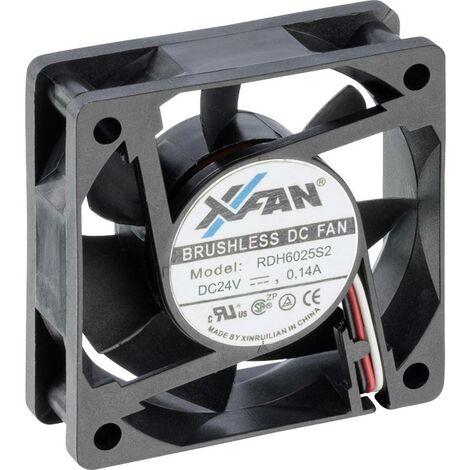 "main image of ""X-Fan RDH6025S2 Ventilateur axial 24 V/DC 25.8 m³/h (L x l x H) 60 x 60 x 25 mm"""