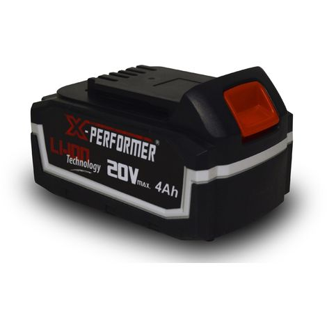 X-PERFORMER XPBAT4A - Batería 4.0 Ah 20V para herramientas elèctricas X-PERFORMER Li-Ion 20V