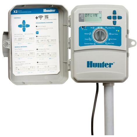 X2-601 programmateur externe Hunter 6 stations compatibles avec WiFi