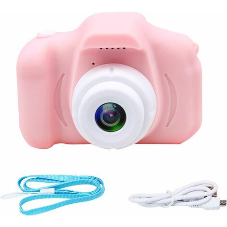 X2 Mini Digital camara de fotos con estilo de grabacion video para ninos, rosa