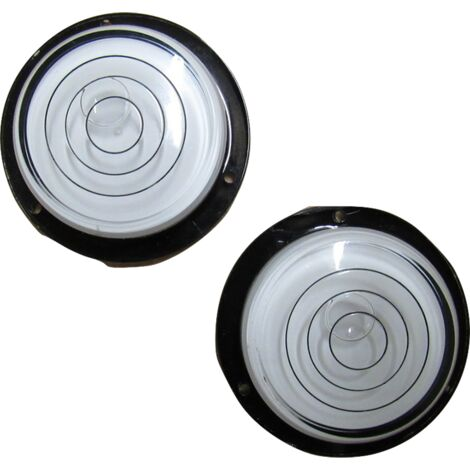 "main image of ""X2 Precision Bullseye Spirit Level - Caravan Circular Round Bubble"""
