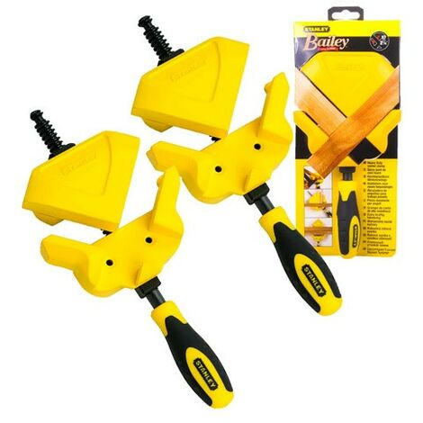 """main image of """"X2 Stanley Corner Clamp Mitre Clamp Heavy Duty Reversible STA083122 0-83-122"""""""