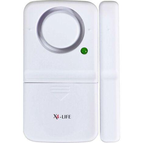 X4-LIFE Tür-/Fensteralarm 110 dB 701529 W078771