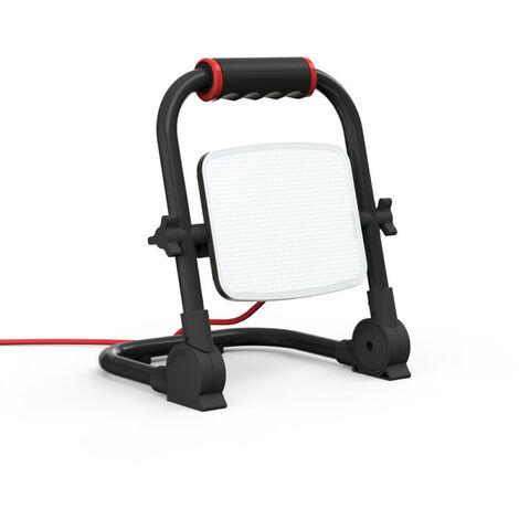 XANLITE - Projecteur de Chantier LED Filaire, Tête Pivotante, 30 W, 2100 Lumens - PR30WF